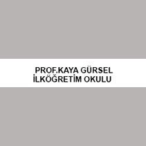 Prof. Kaya Gürsel İlköğretim Okulu